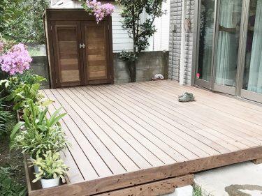 狛江市 M様邸 ウッドデッキ工事事例
