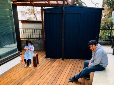 横浜市 M様邸 ウッドデッキリフォーム/物置設置事例
