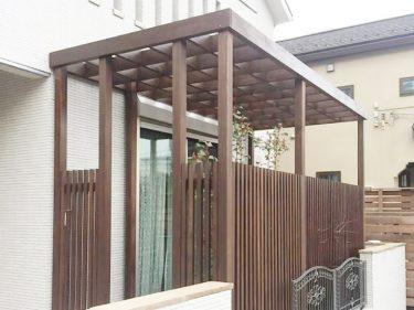 川崎市 S様邸 パーゴラ工事事例